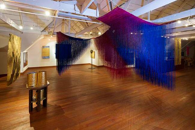 Olga de Amaral, Opening Exhibition 2014, interior2