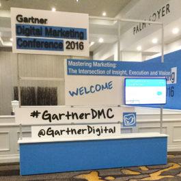 Gartner Digital Marketing Conference 2016