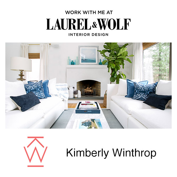Laurel wolf kate spiro for Ann wolf interior decoration